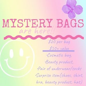 MYSTERY BAGS!! 🎉🎉🤗